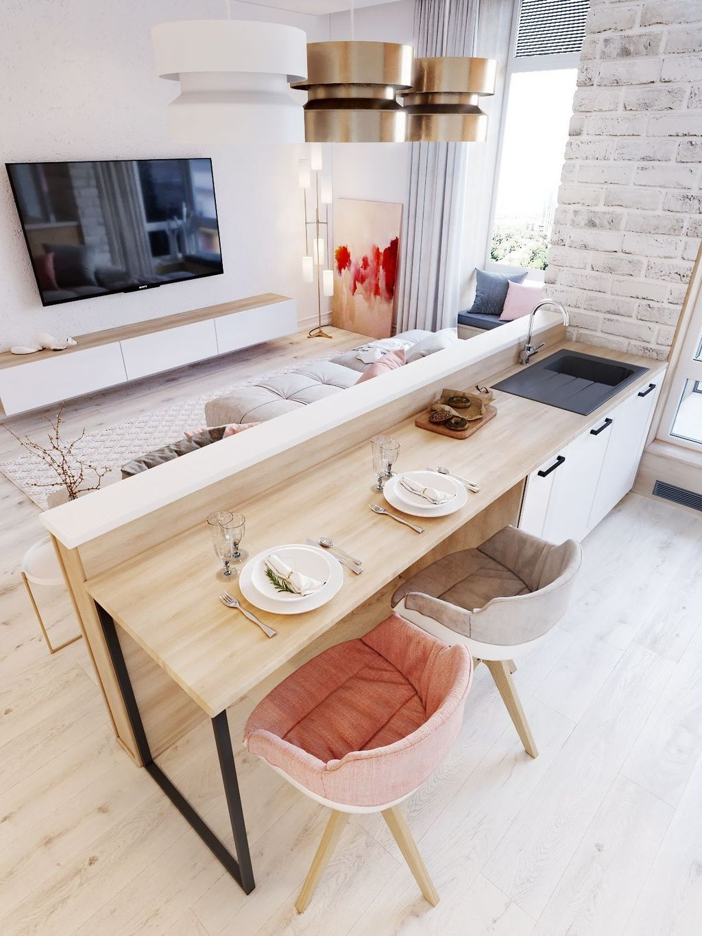 Perfect Small Apartment Decoration Ideas 14