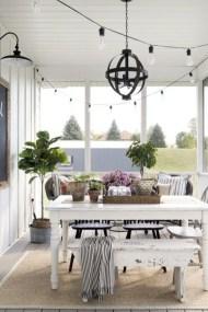 Popular Summer Dining Room Design Ideas 12