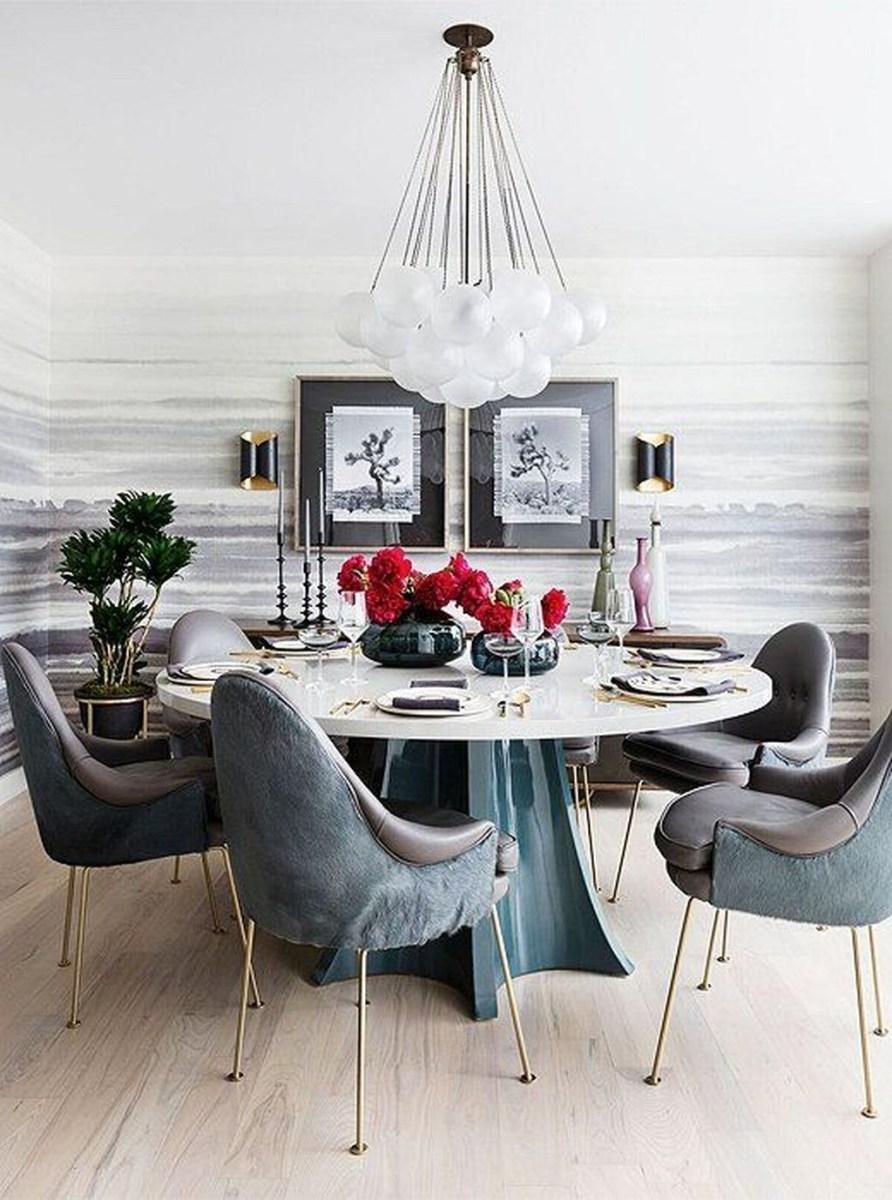 Popular Summer Dining Room Design Ideas 34