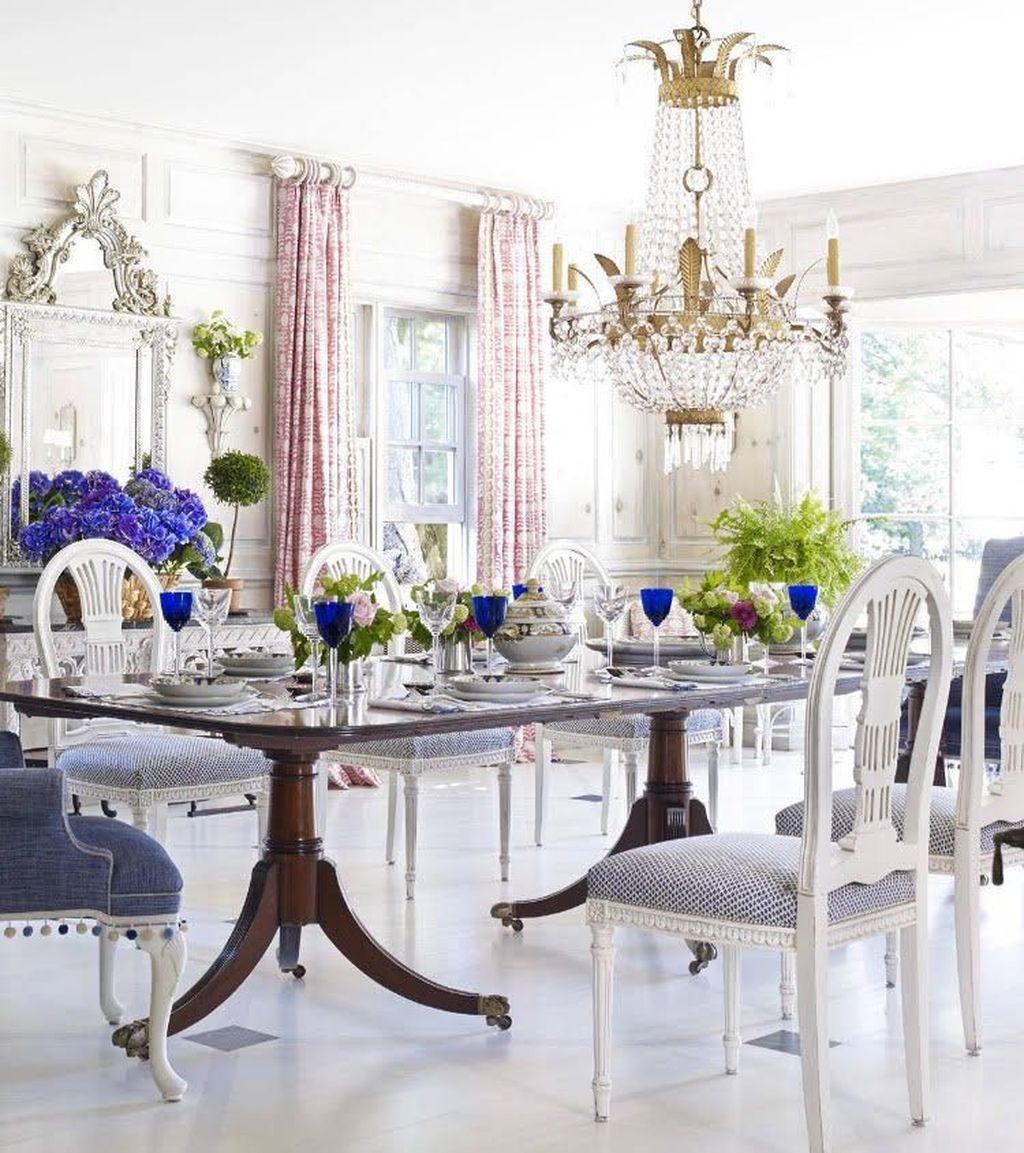 Popular Summer Dining Room Design Ideas 35
