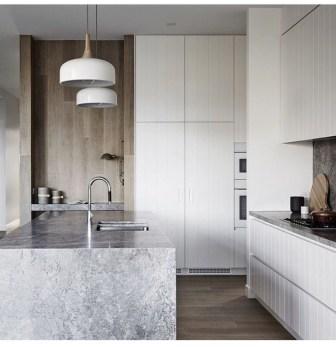 The Best Lighting In Neutral Kitchen Design Ideas 08
