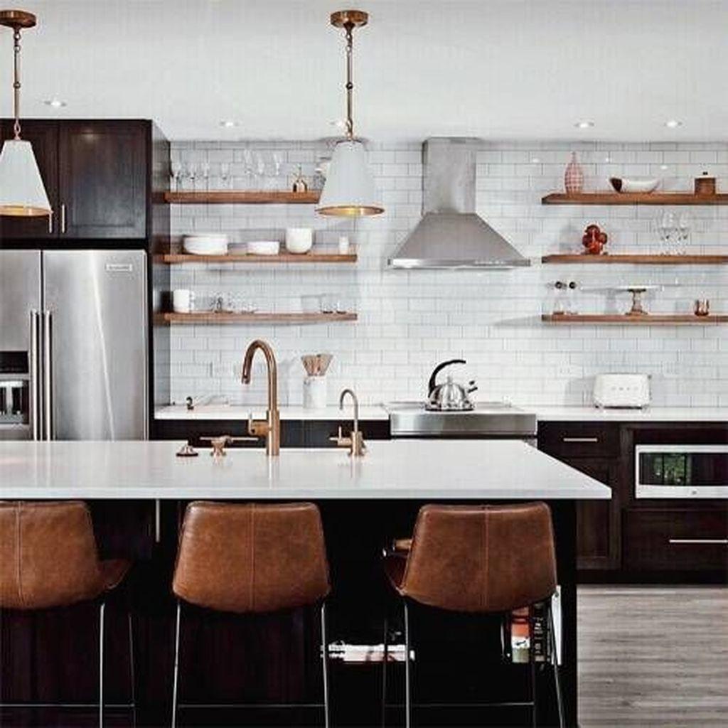 The Best Lighting In Neutral Kitchen Design Ideas 10