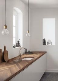The Best Lighting In Neutral Kitchen Design Ideas 13