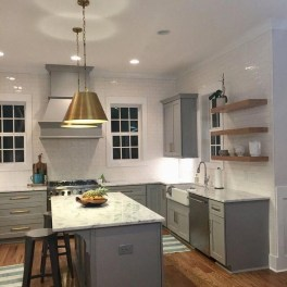 The Best Lighting In Neutral Kitchen Design Ideas 14