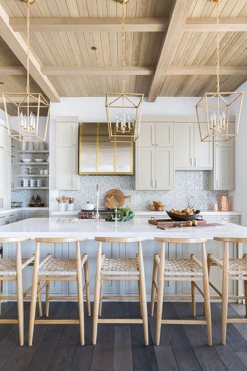 The Best Lighting In Neutral Kitchen Design Ideas 21