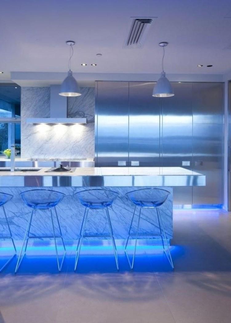 The Best Lighting In Neutral Kitchen Design Ideas 23