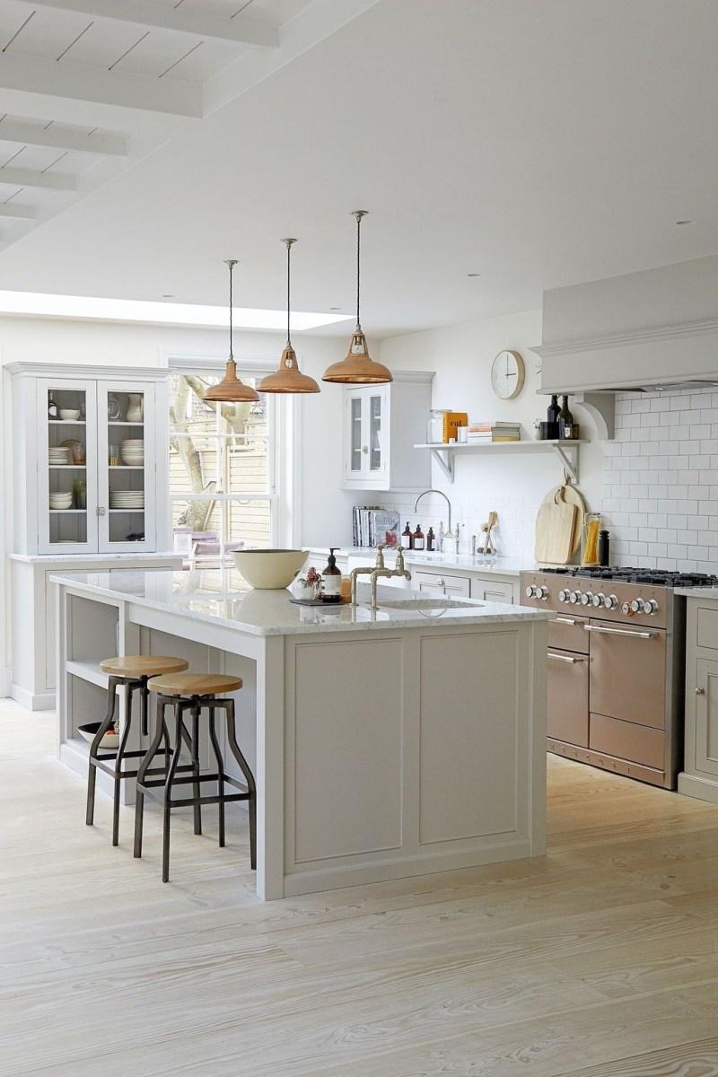 The Best Lighting In Neutral Kitchen Design Ideas 33