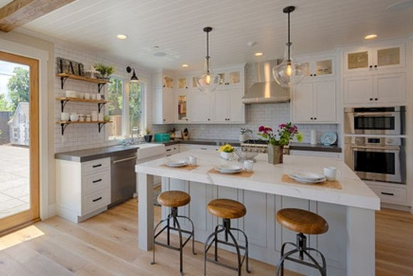 The Best Lighting In Neutral Kitchen Design Ideas 34