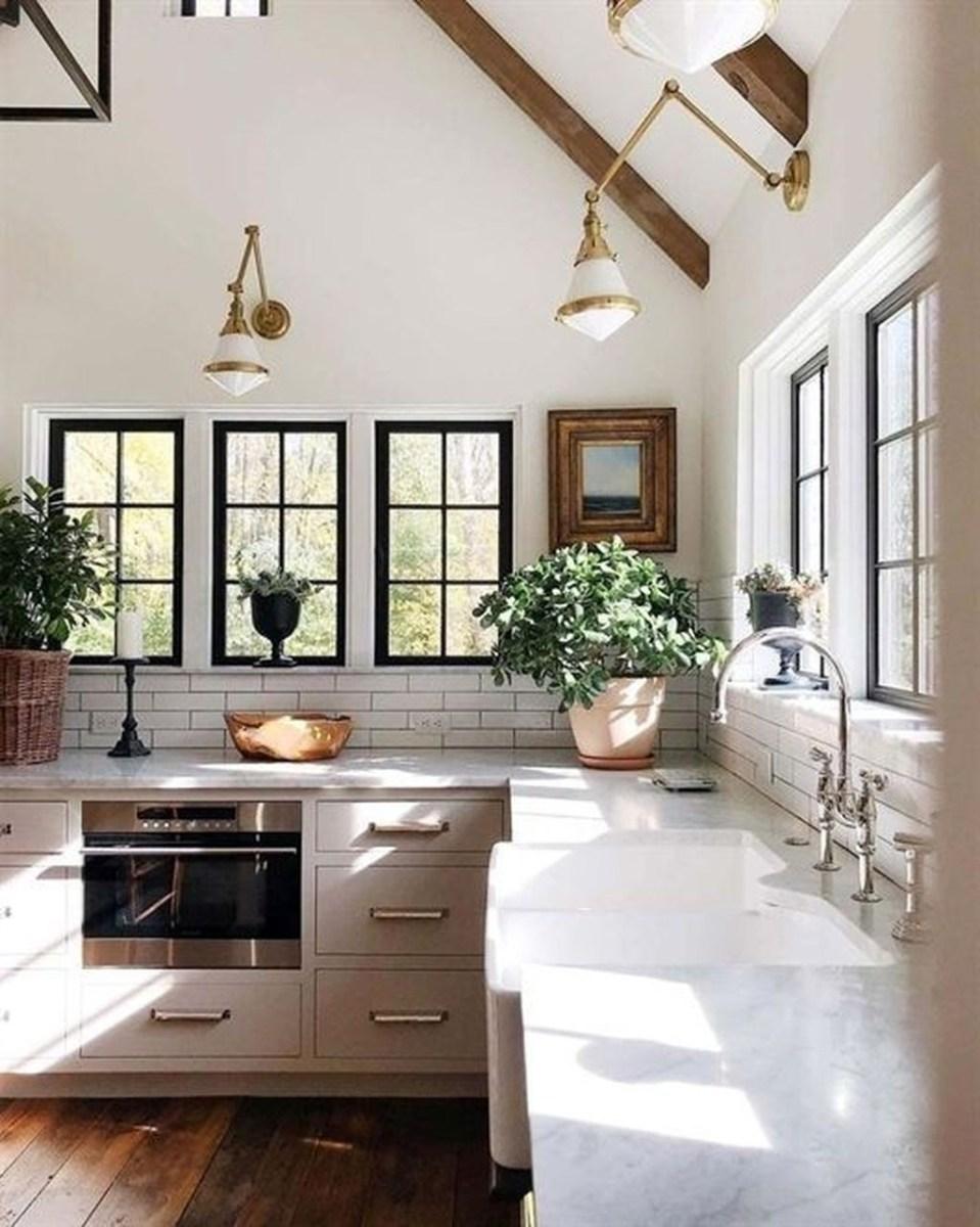 The Best Lighting In Neutral Kitchen Design Ideas 37