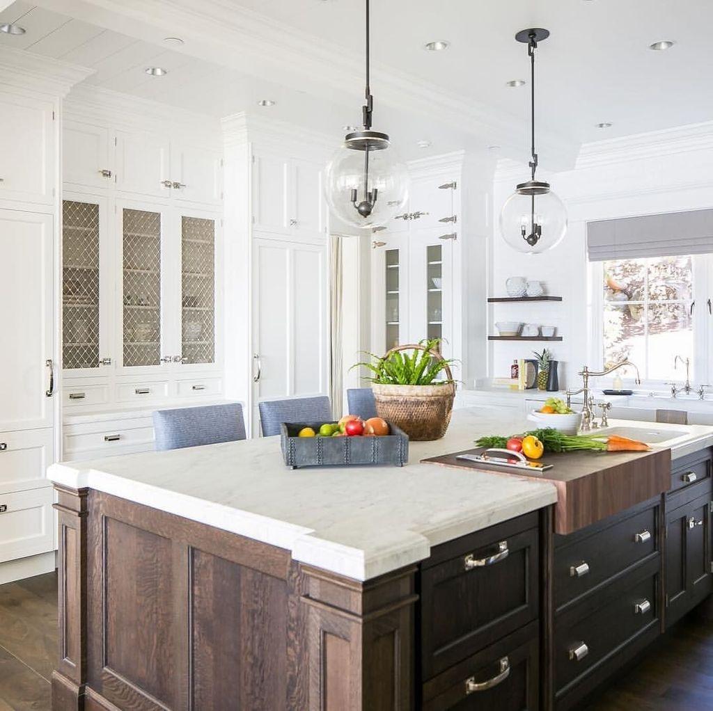 The Best Lighting In Neutral Kitchen Design Ideas 39