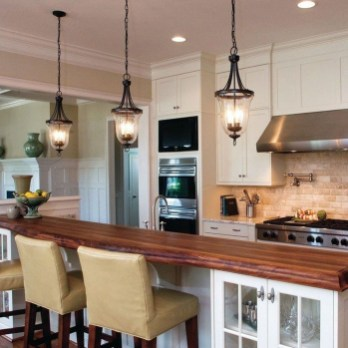 The Best Lighting In Neutral Kitchen Design Ideas 40
