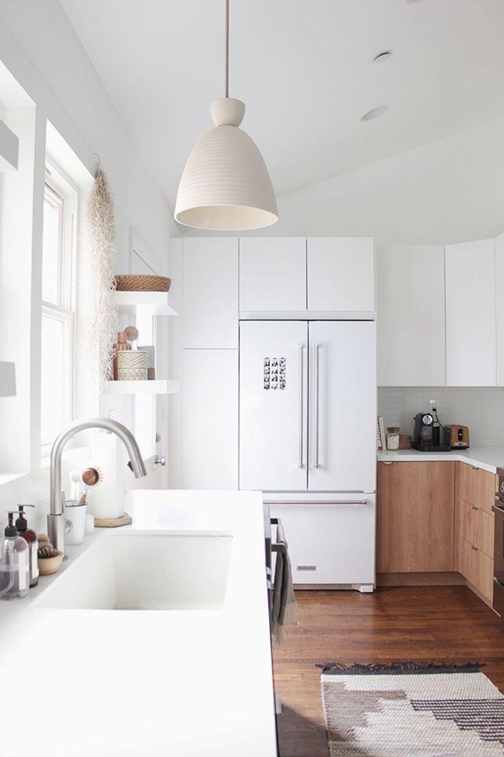 The Best Lighting In Neutral Kitchen Design Ideas 46