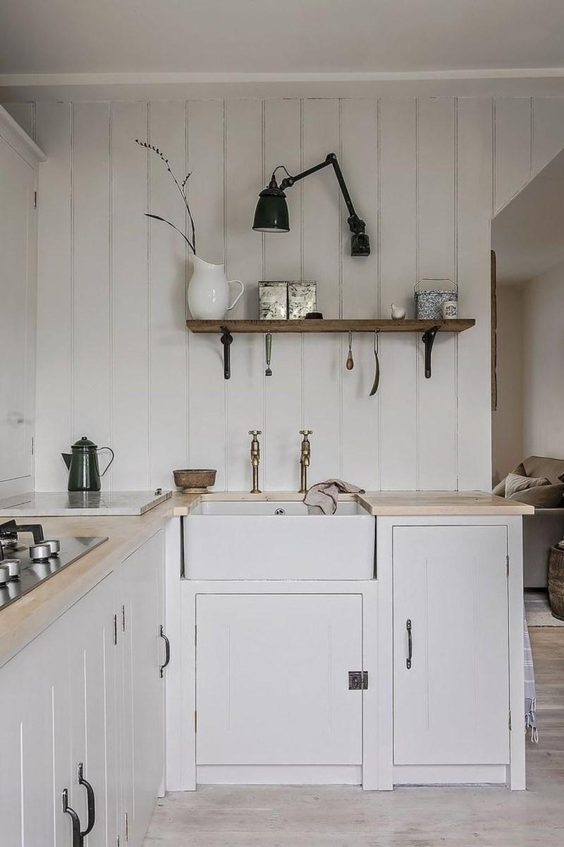 The Best Lighting In Neutral Kitchen Design Ideas 50