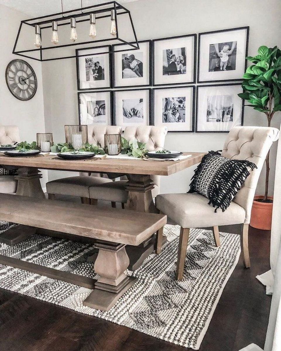 Admirable Dining Room Design Ideas You Will Love 08 1