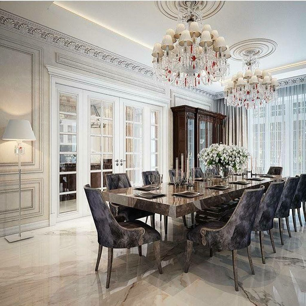 Admirable Dining Room Design Ideas You Will Love 28