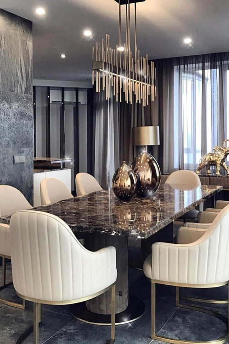 Admirable Dining Room Design Ideas You Will Love 34