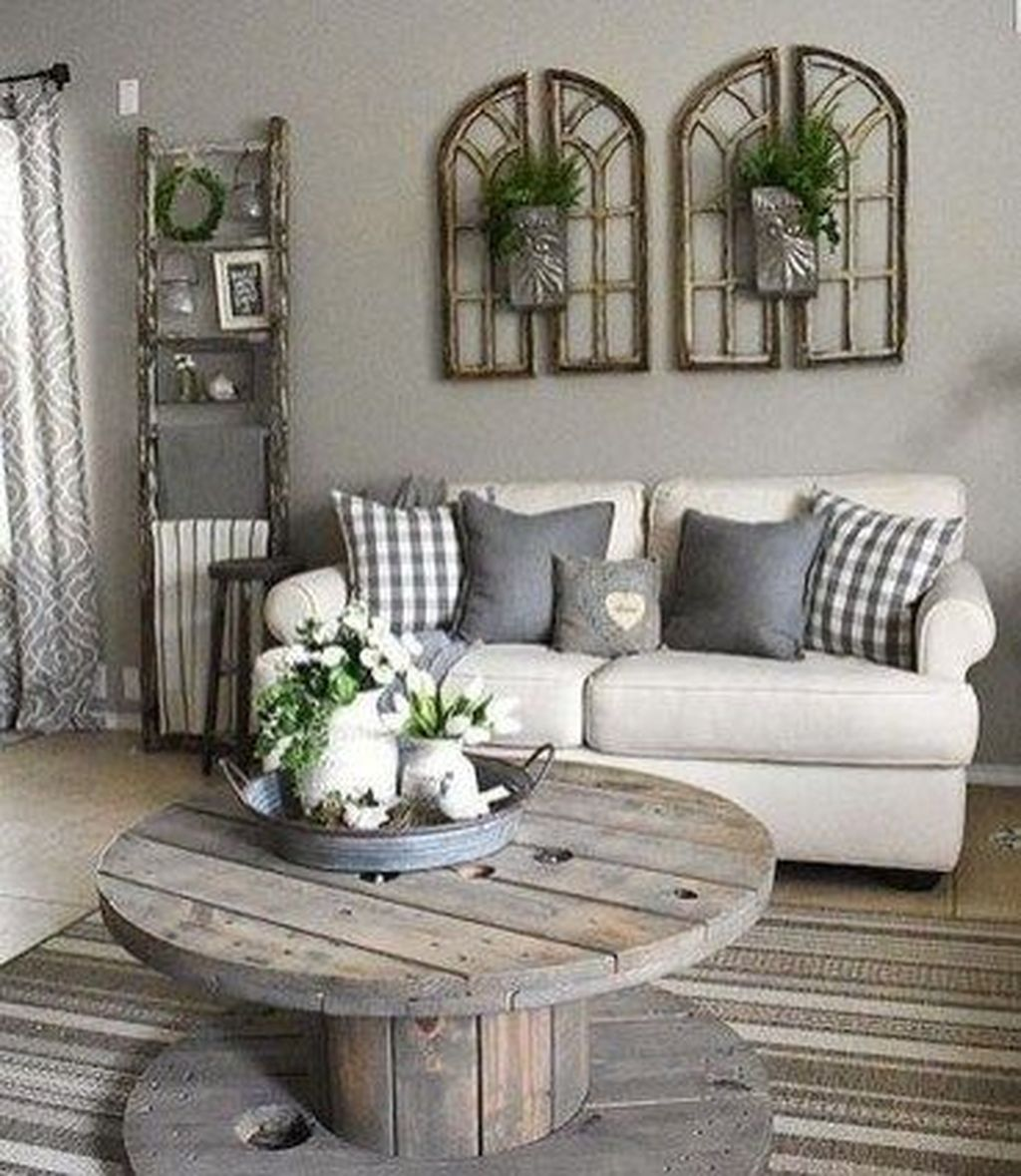 Admirable Farmhouse Living Room Decor Ideas 09