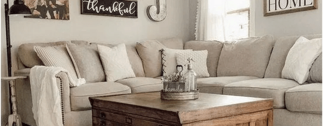 Admirable Farmhouse Living Room Decor Ideas 12