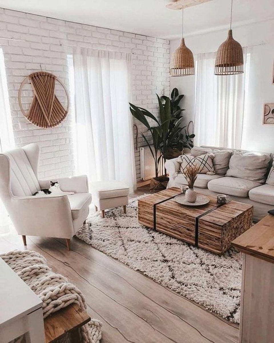 Admirable Farmhouse Living Room Decor Ideas 13