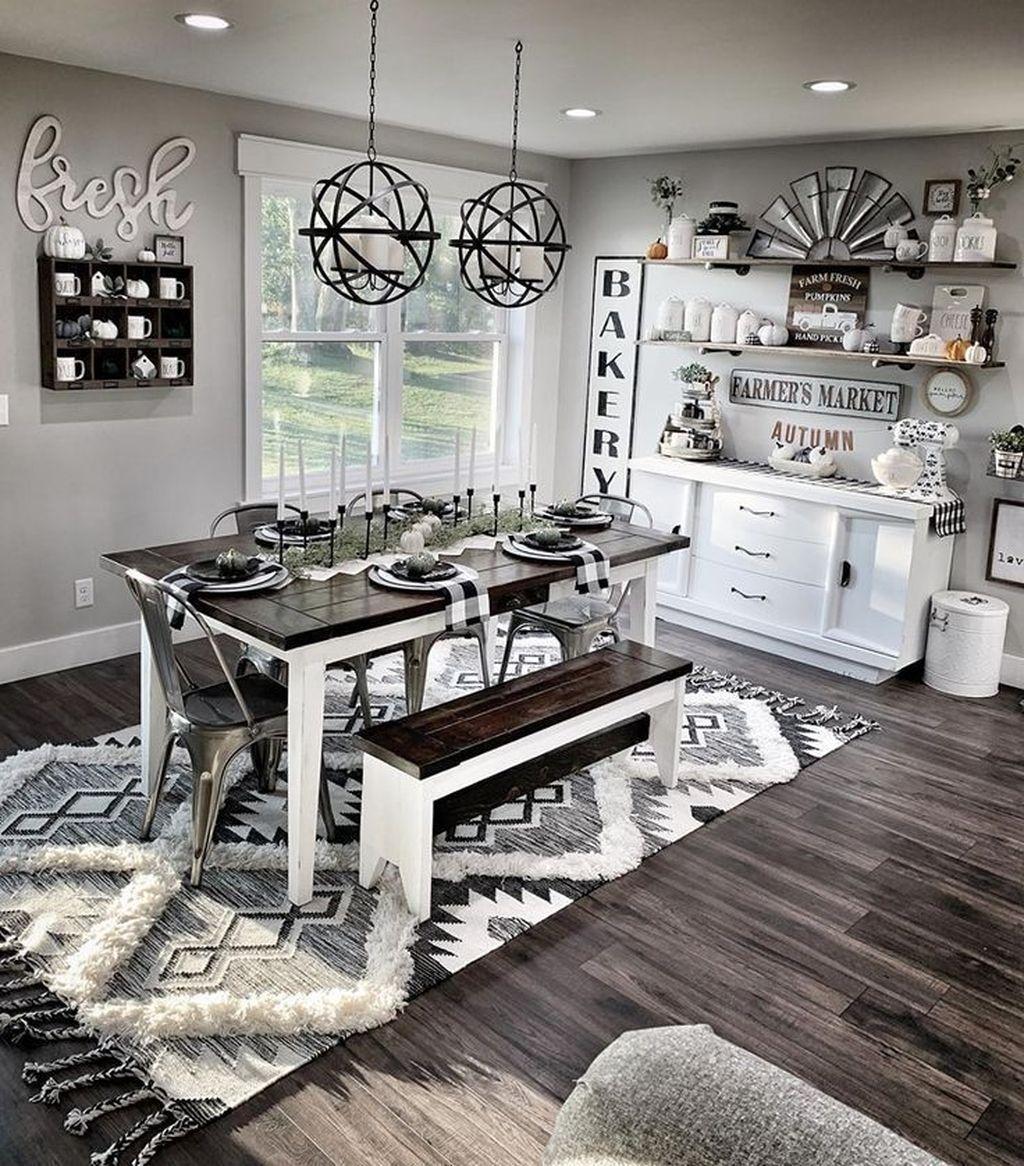 Admirable Farmhouse Living Room Decor Ideas 32