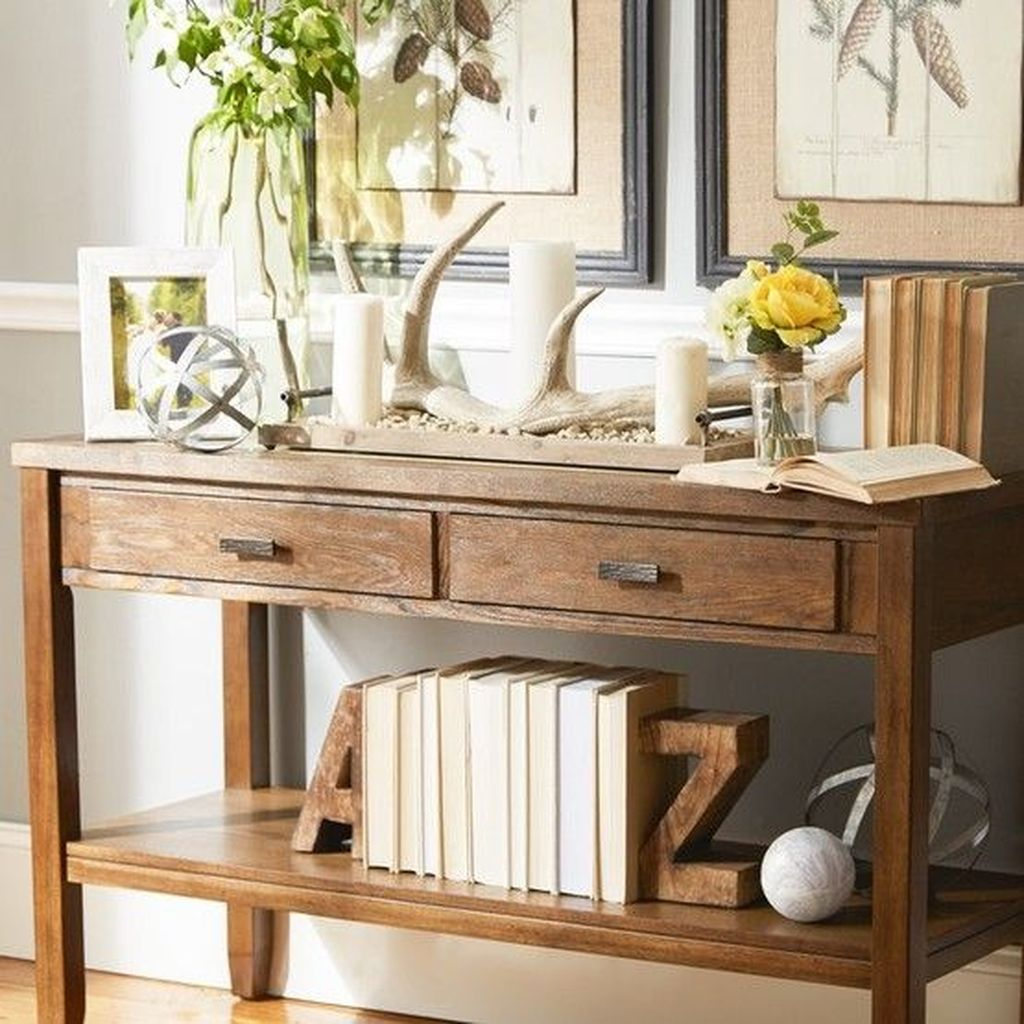 Amazing Sofa Table Decor Ideas You Should Try 08