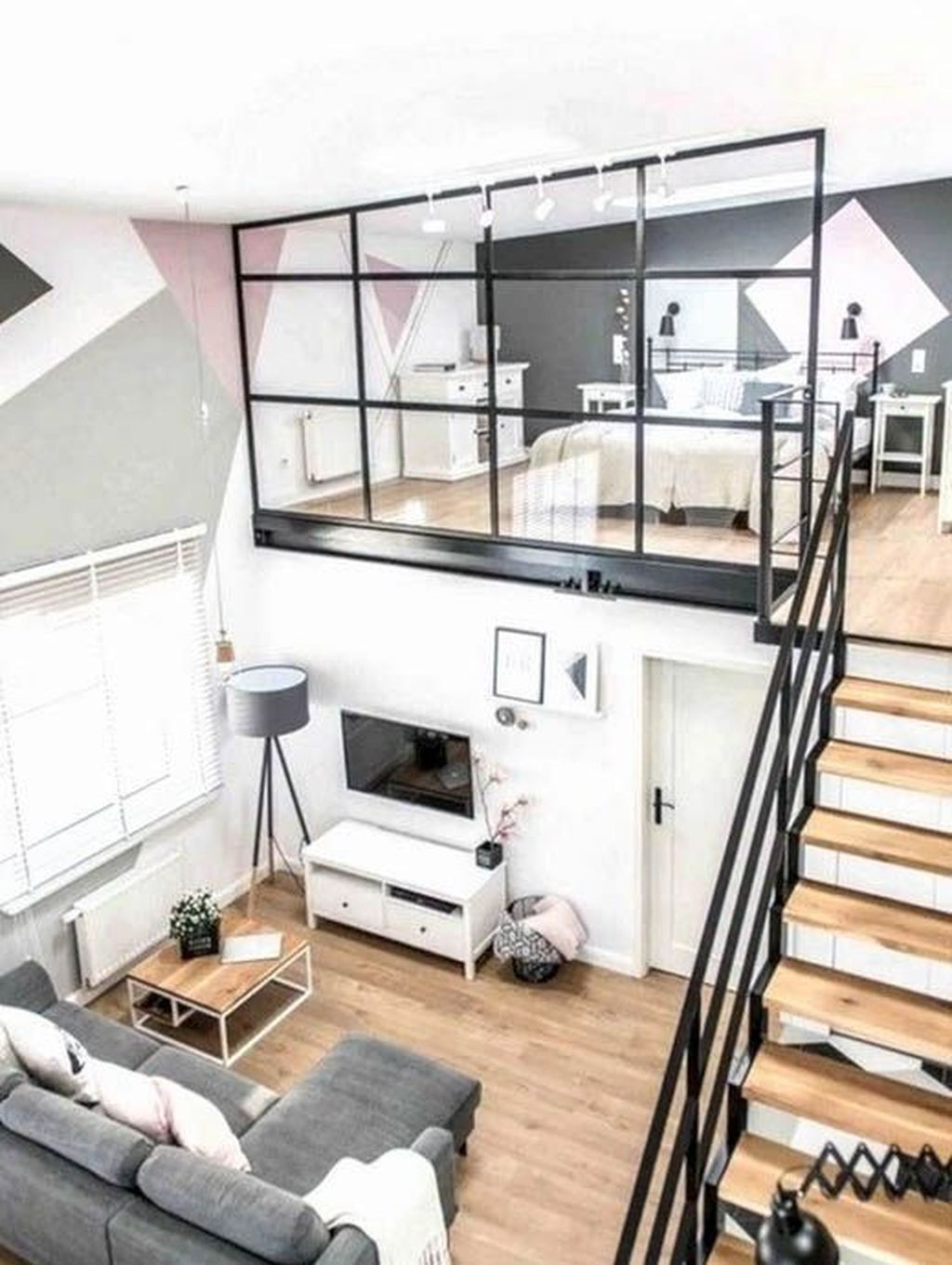 Awesome Loft Apartment Decorating Ideas 06