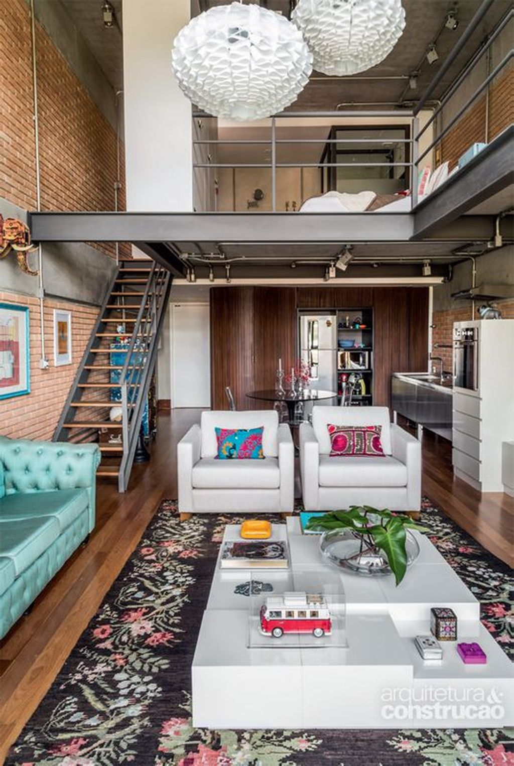 Awesome Loft Apartment Decorating Ideas 07