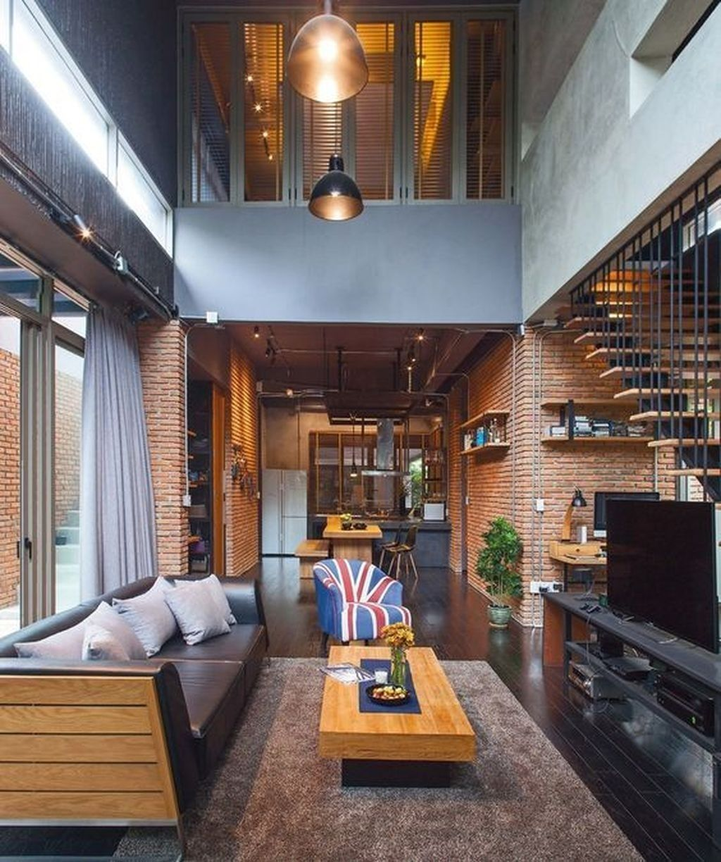 Awesome Loft Apartment Decorating Ideas 11