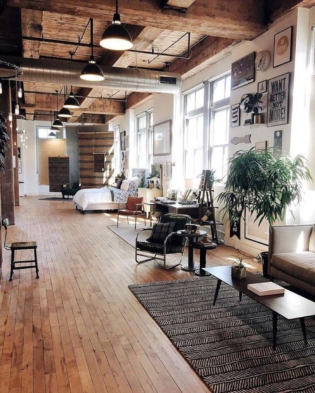 Awesome Loft Apartment Decorating Ideas 14