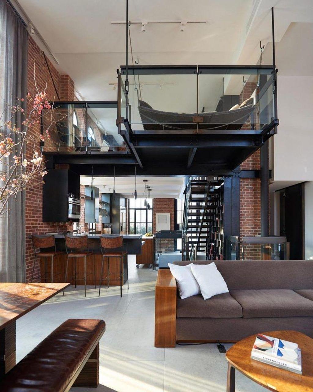 Awesome Loft Apartment Decorating Ideas 18