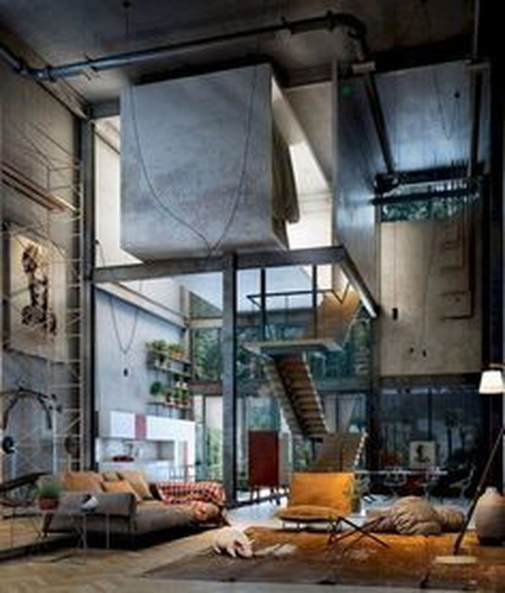 Awesome Loft Apartment Decorating Ideas 19
