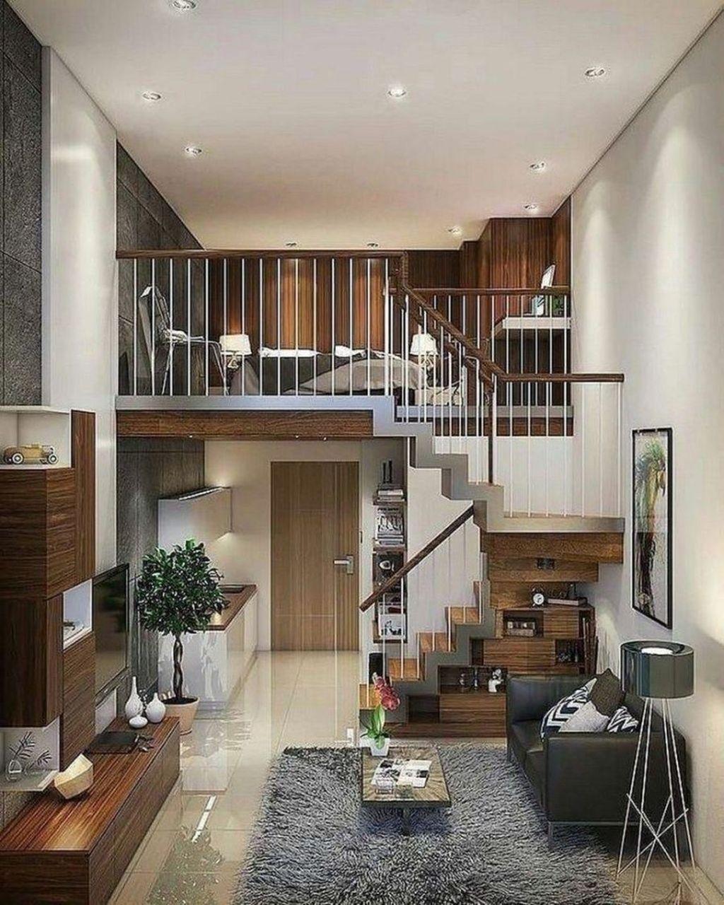 Awesome Loft Apartment Decorating Ideas 20