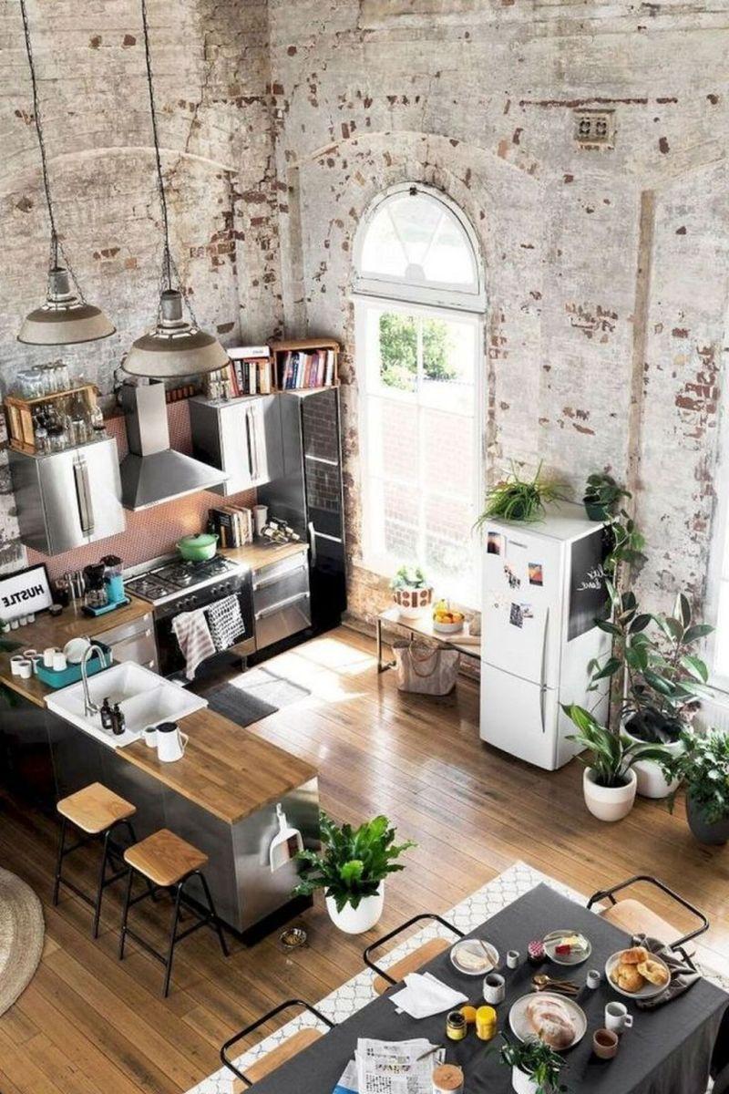 Awesome Loft Apartment Decorating Ideas 24