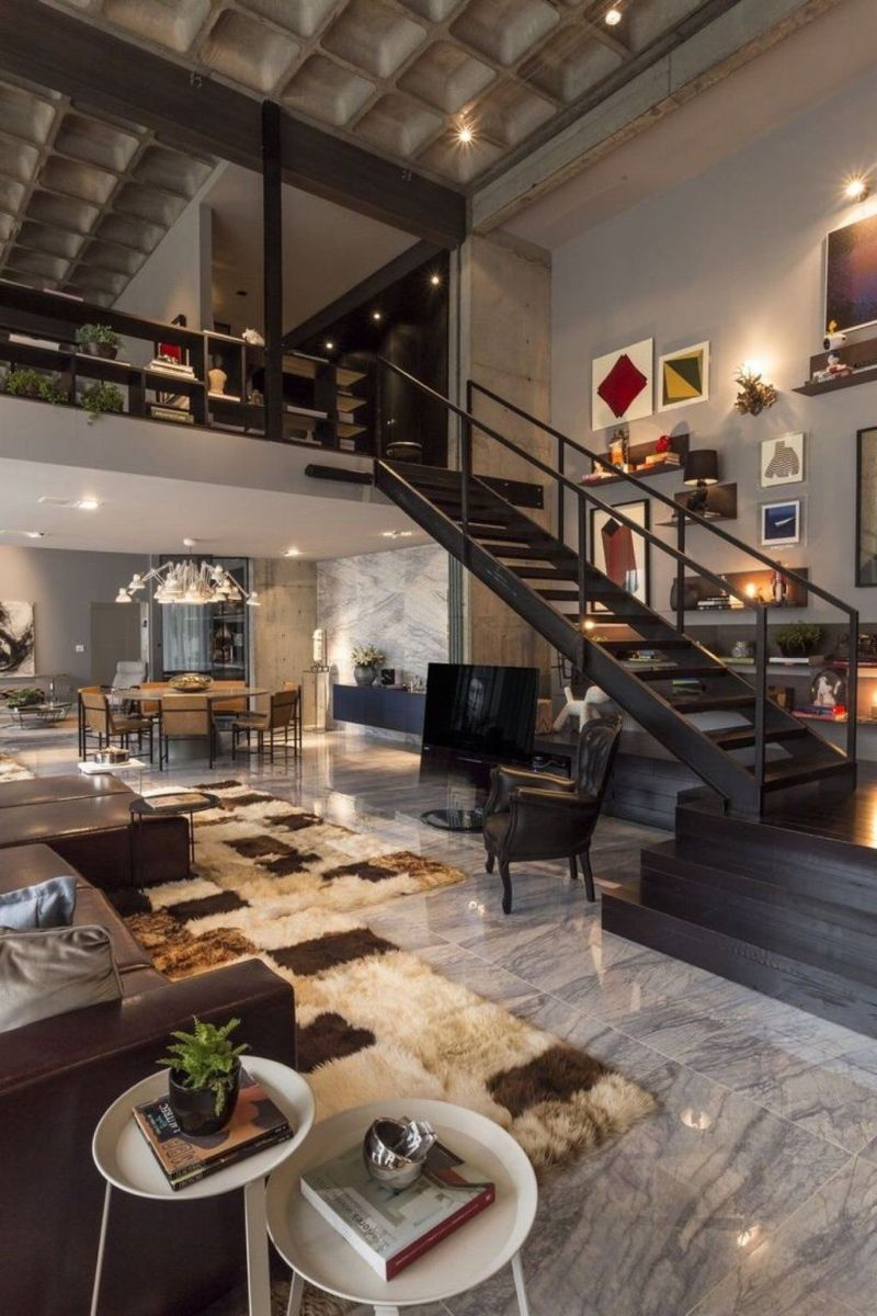 Awesome Loft Apartment Decorating Ideas 32