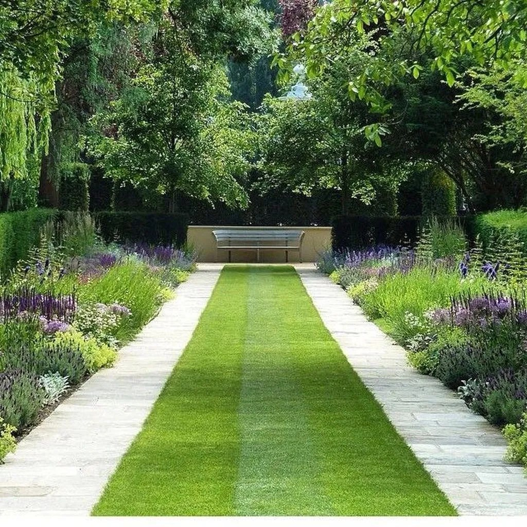 Beautiful Formal Garden Design Ideas 26