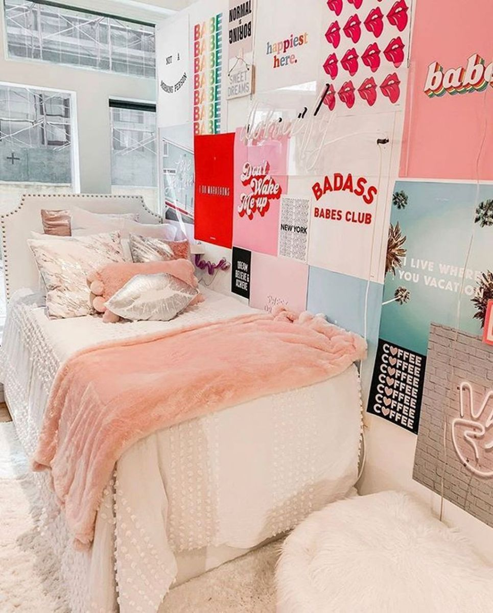 Cool Dorm Room Ideas To Maximize Your Space 05