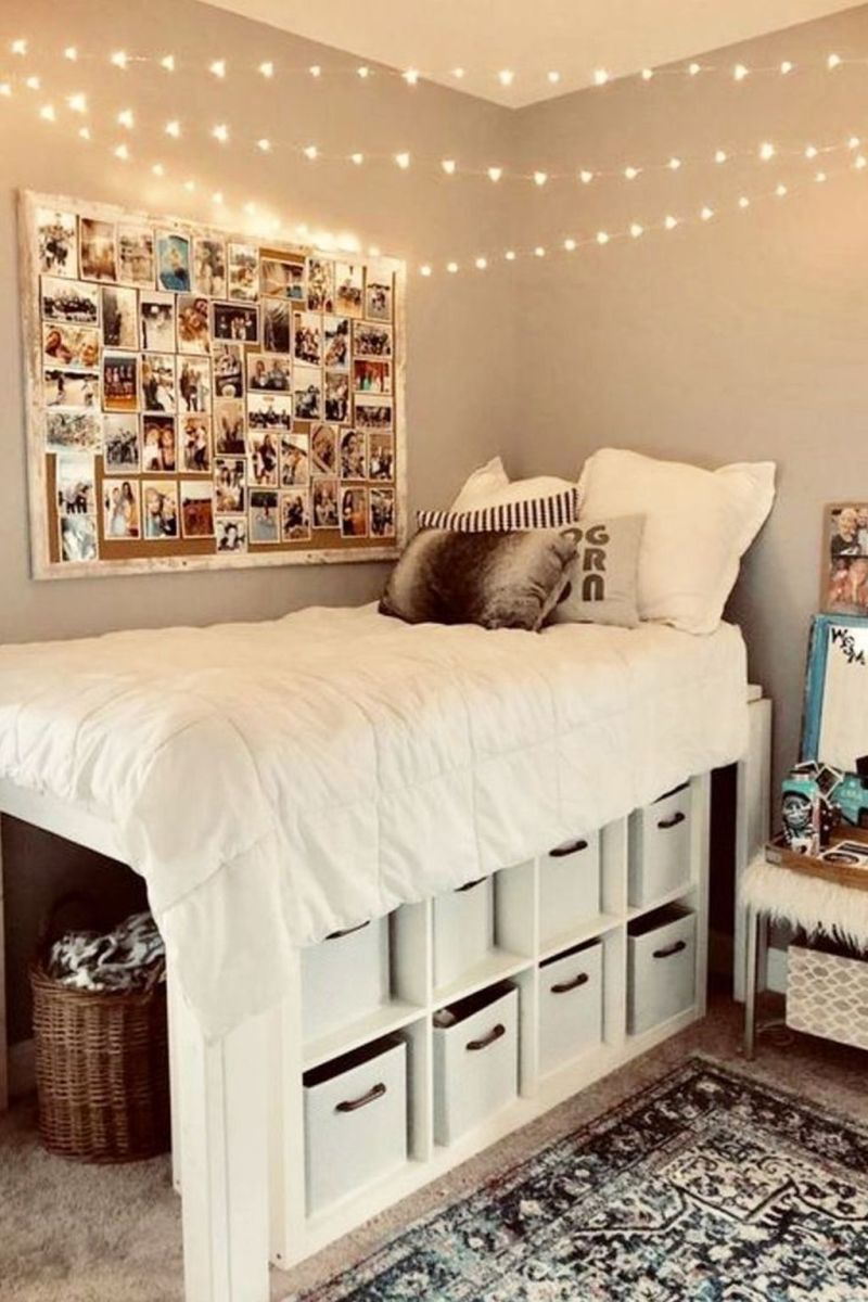Cool Dorm Room Ideas To Maximize Your Space 08