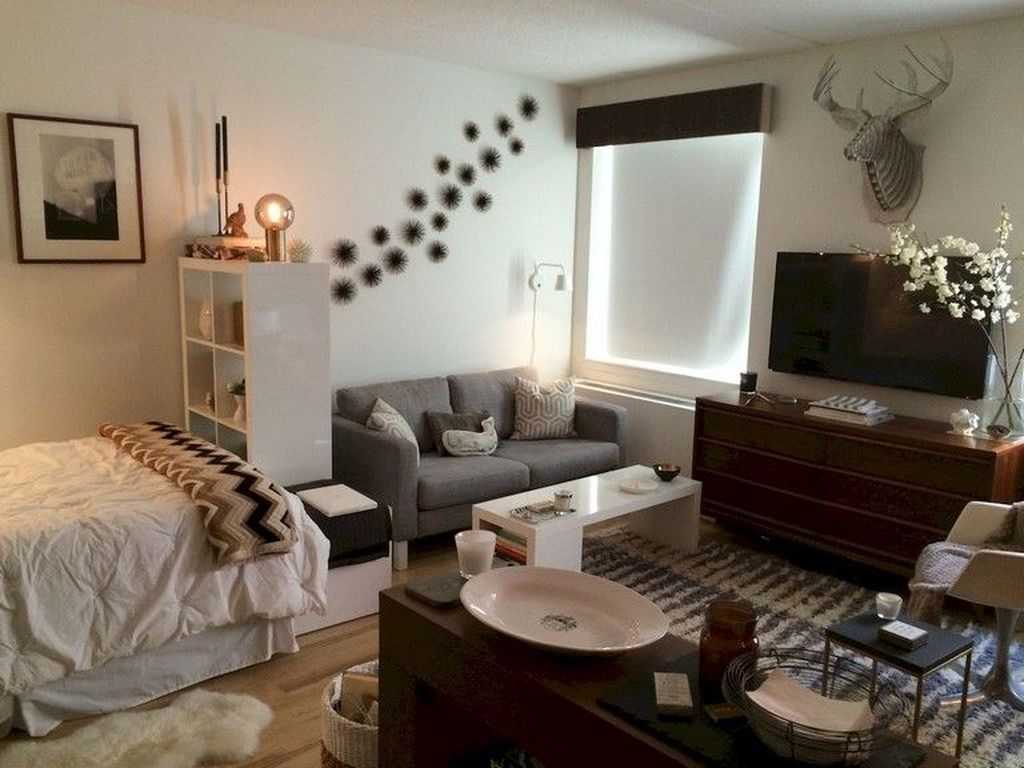 Cool Studio Apartment Ideas You Never Seen Before 07