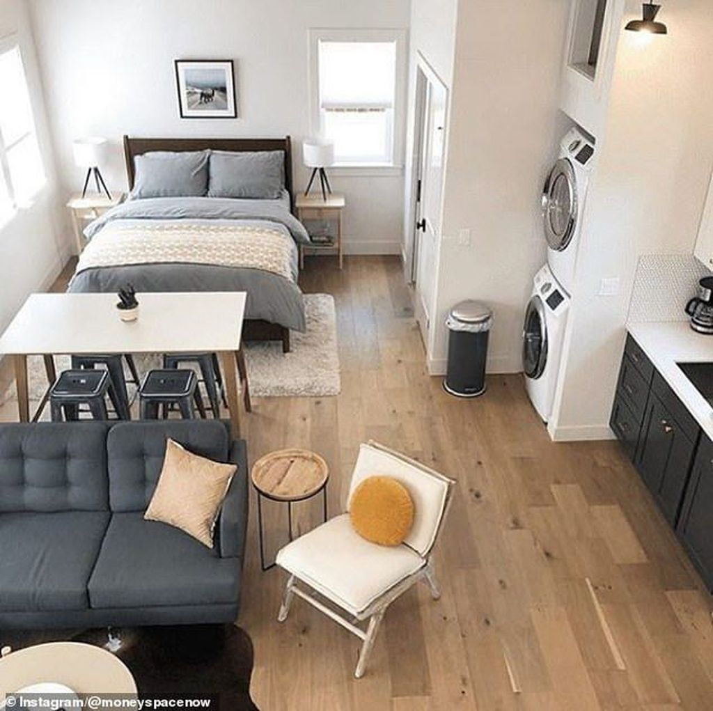 Cool Studio Apartment Ideas You Never Seen Before 23