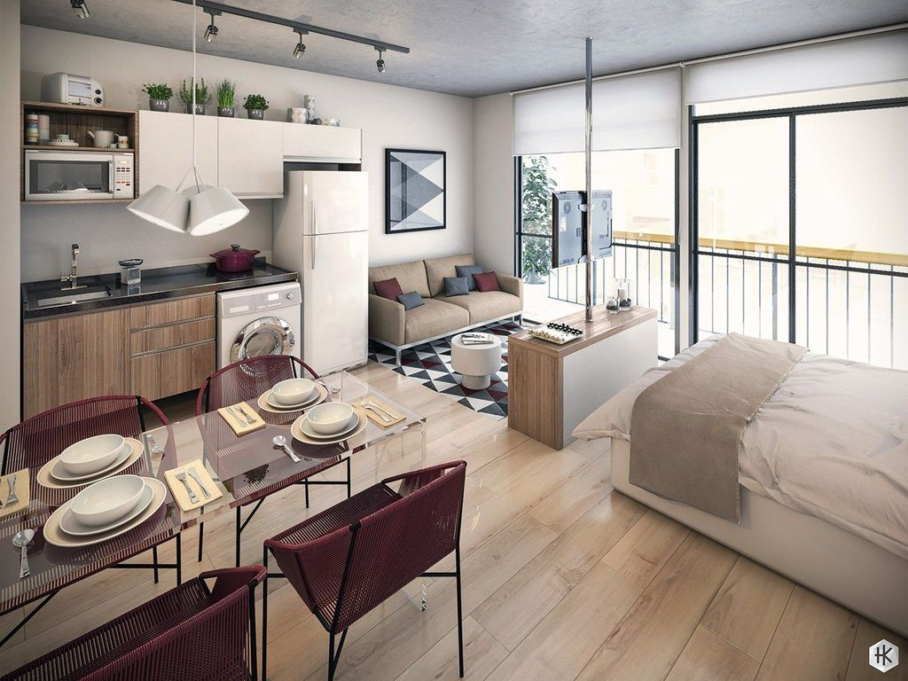 Cool Studio Apartment Ideas You Never Seen Before 25