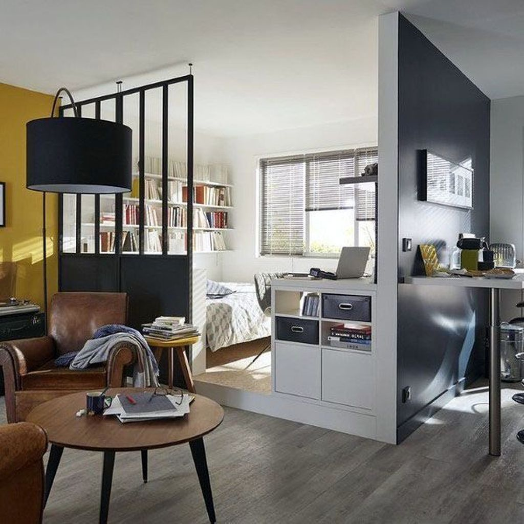 Cool Studio Apartment Ideas You Never Seen Before 32