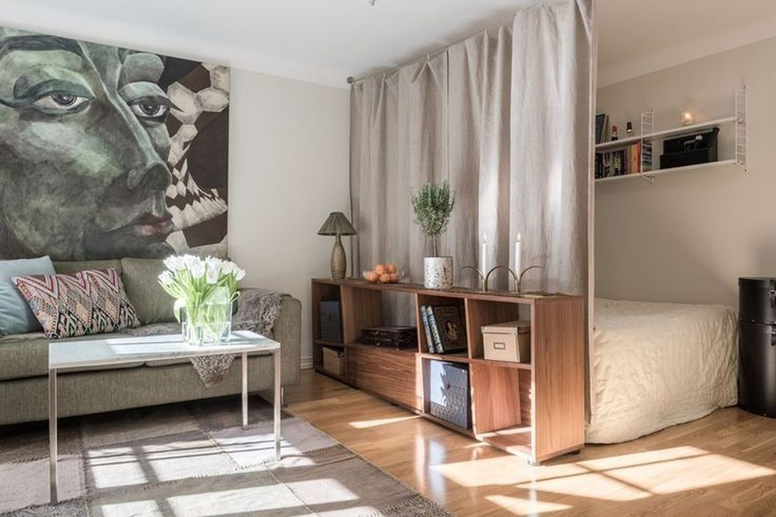 Cool Studio Apartment Ideas You Never Seen Before 36