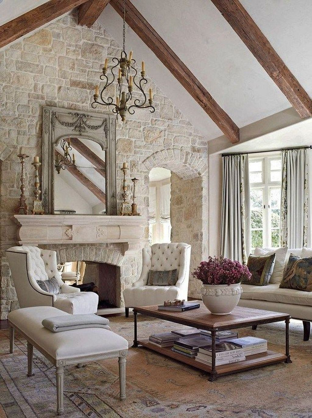 Fabulous Country Living Room Designs Ideas You Will Love 16