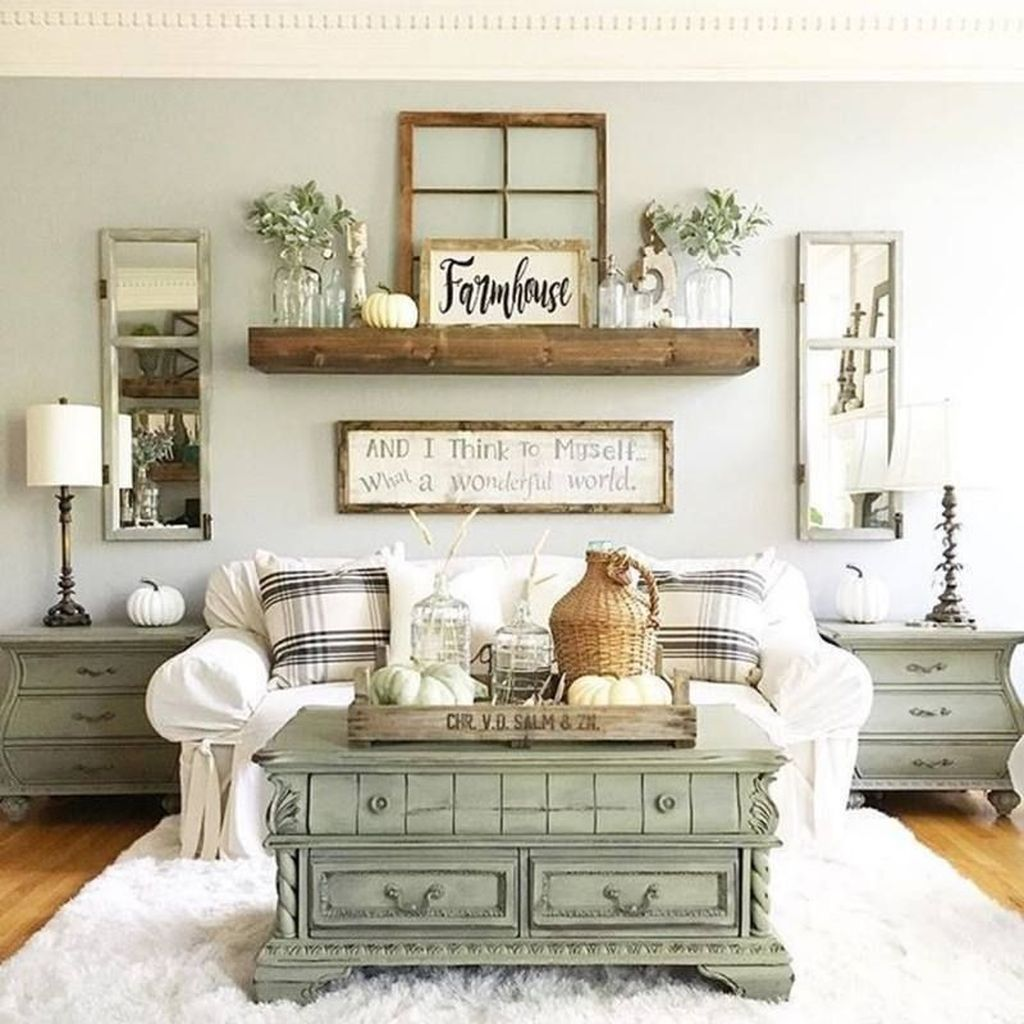 Fabulous Country Living Room Designs Ideas You Will Love 18