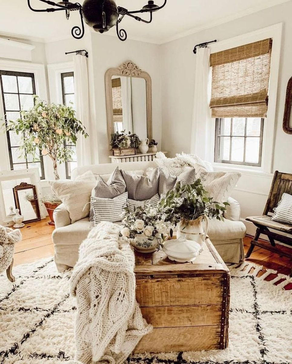 Fabulous Country Living Room Designs Ideas You Will Love 22
