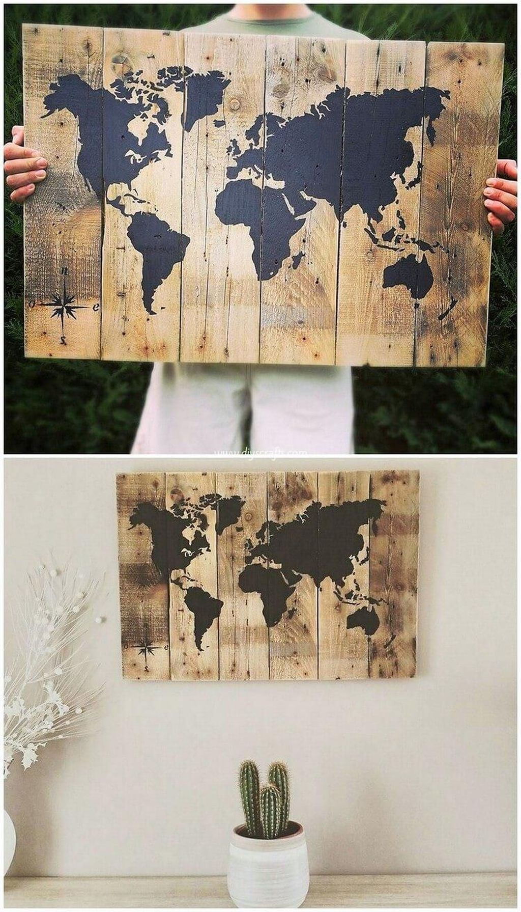 Fabulous Pallet Wall Decor Ideas To Beautify Your Interior 04