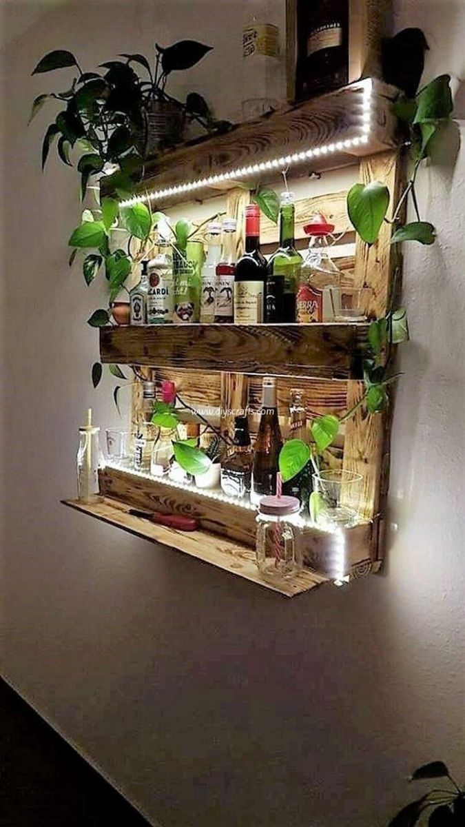 Fabulous Pallet Wall Decor Ideas To Beautify Your Interior 21