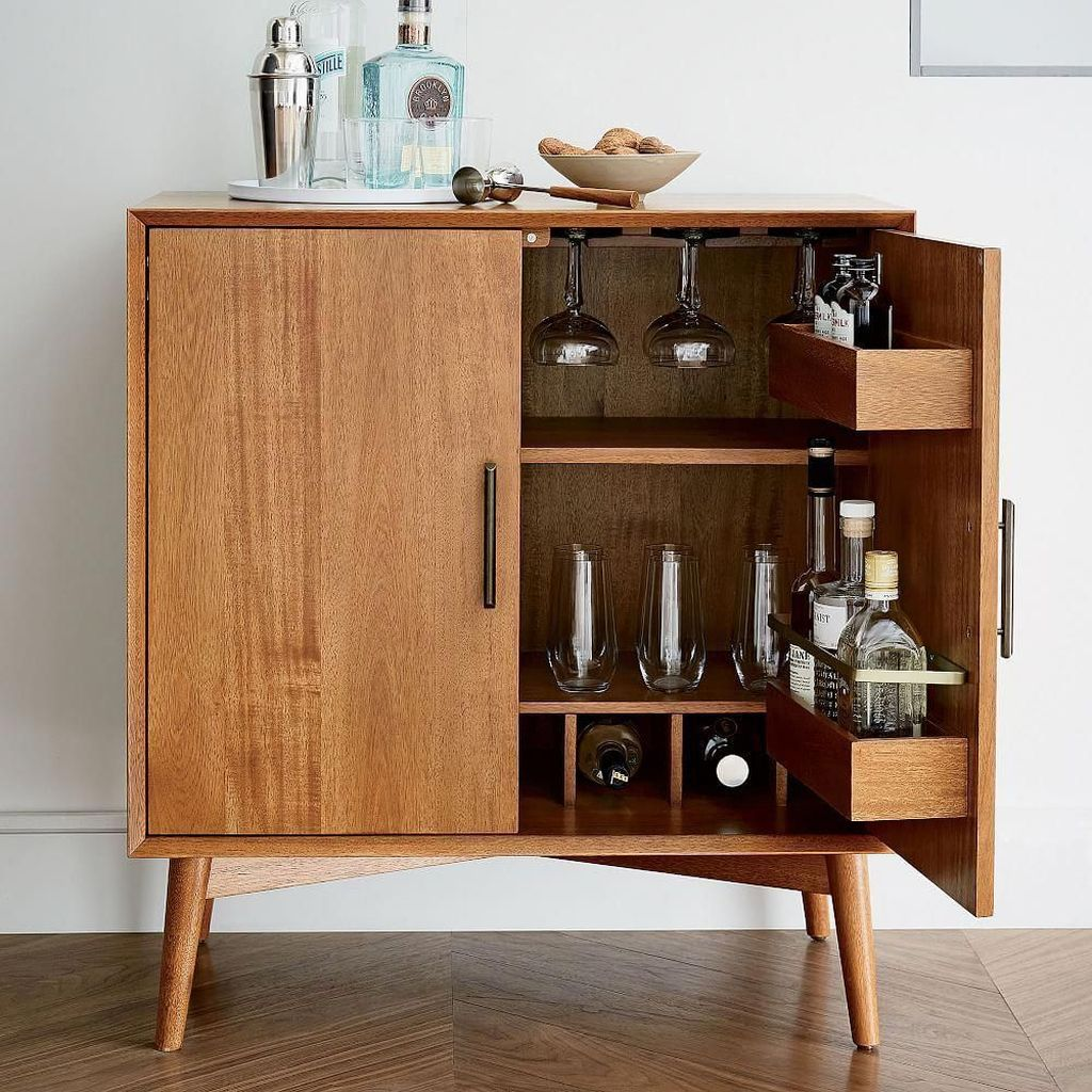 Fascinating Small Living Room Cabinet Design Ideas 08