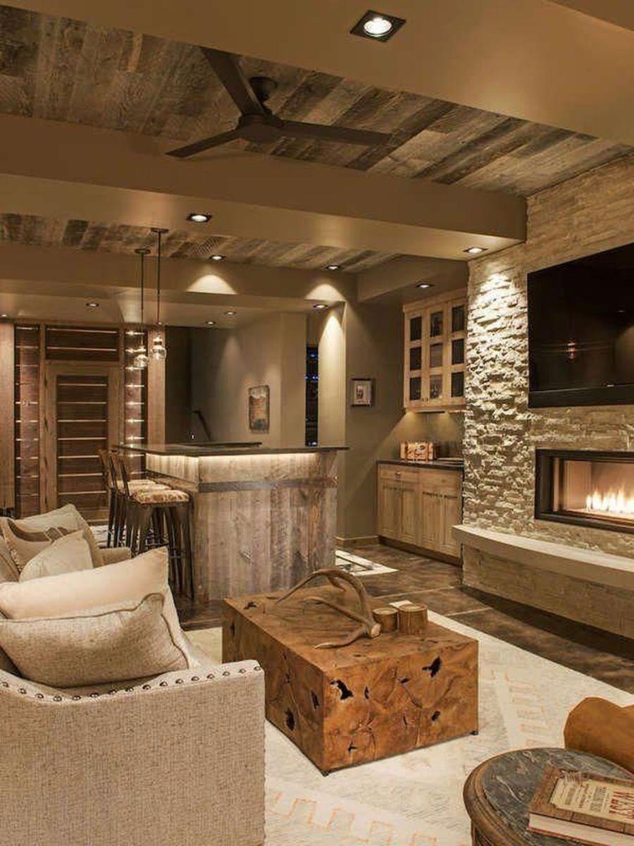 Gorgeous Basement Living Room Ideas You Definitely Like 04