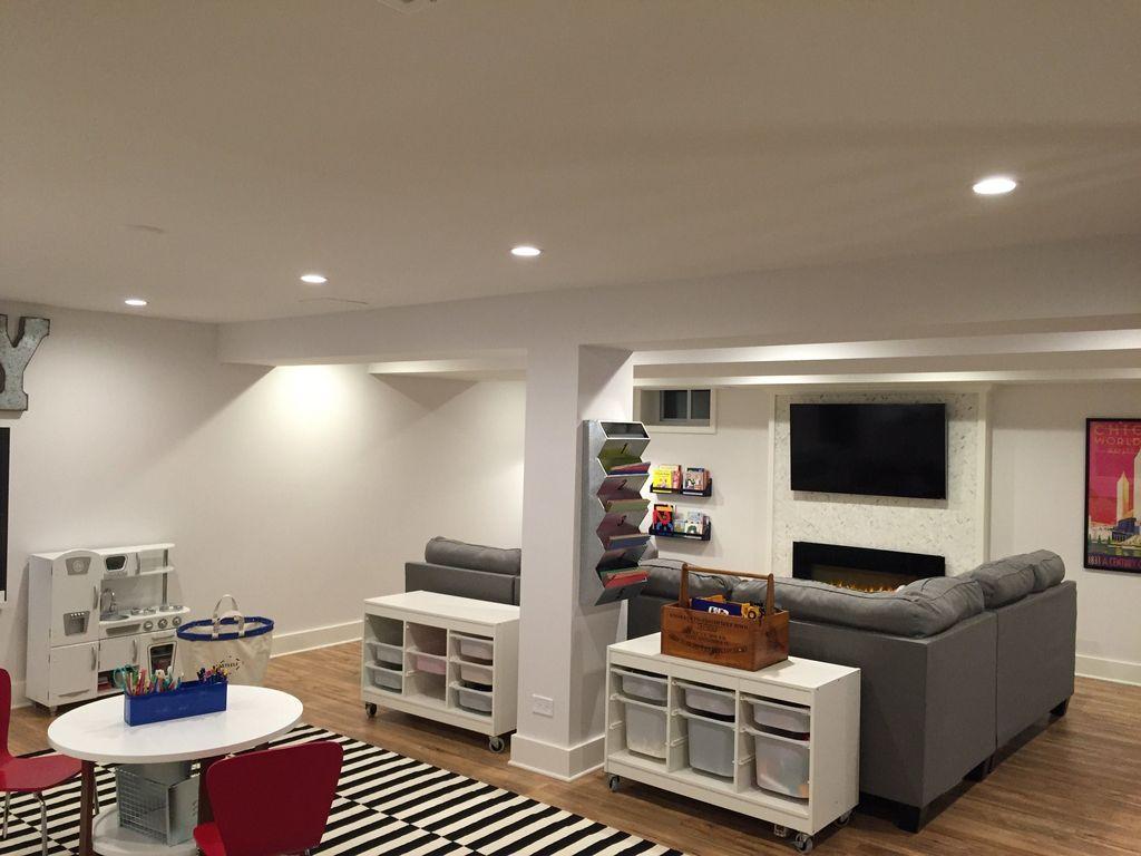 Gorgeous Basement Living Room Ideas You Definitely Like 05